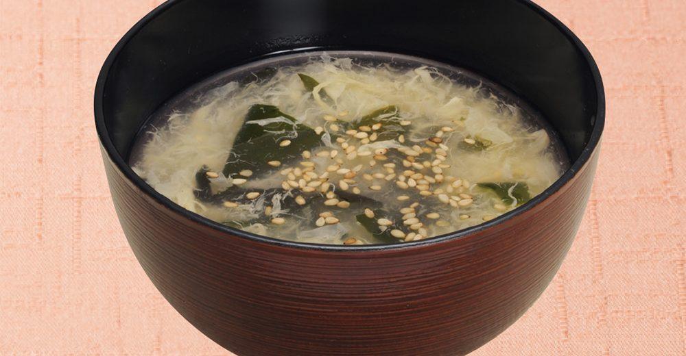 【おかわり】わかたまスープ