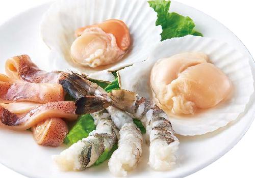焼物いろいろ 豚・鶏・海鮮