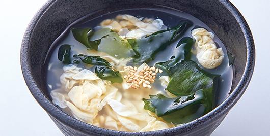 ワカたまスープ(おかわり)